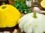 Receta calabaza bonetera rehogada (calabaza patisson rehogada)