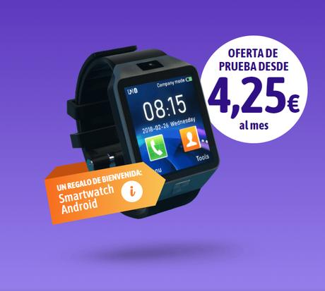 Regalo de bienvenida Ocu: Smartwatch Android