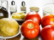 Receta tarta salada tomate mostaza (versión sencilla otras variantes)