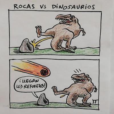 Rocas Vs Dinosaurios (Jose Tomás)