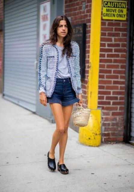 shorts 2019 Leandra Medine