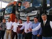 Foton entrega flota camiones importante empresa sector