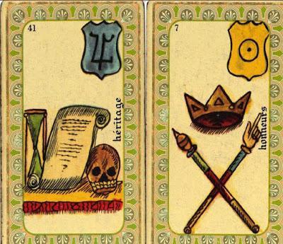 Dos cartas del Oráculo Belline