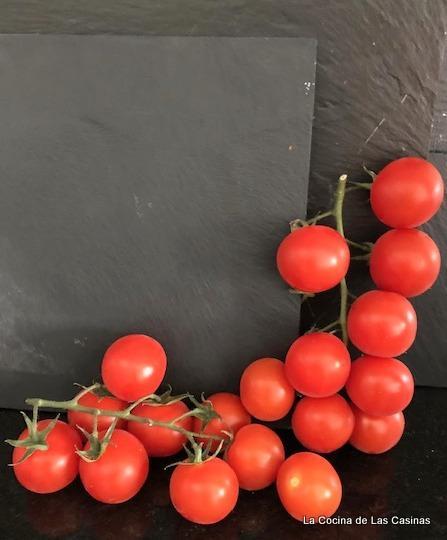 Tomate Cherry de Rama Confitado