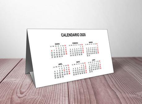 Plantillas de Calendarios 2020 Gratis para Descargar