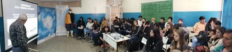 JORNADA CON ALUMNOS DE 4TO AÑO DE EDUCACIÓN SECUNDARIA EN ESCOBAR