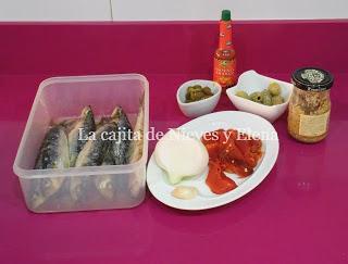 Paté de sardinas picantón