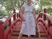 Vestido blanco midi