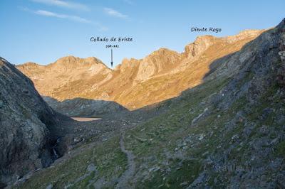 Cresta Espadas desde Angel Orús (reseña)