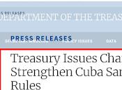 EE.UU.: sanciones contra cubanos