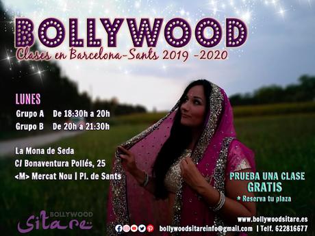 Clases de Bollywood en Barcelona Sants. Curso 2019-2020