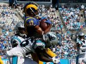 Rams aprovechan errores Panthers ganan visita