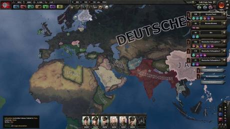 mapa de hearts of iron 4