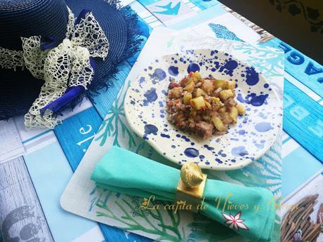 Frita de Pulpo de Formentera