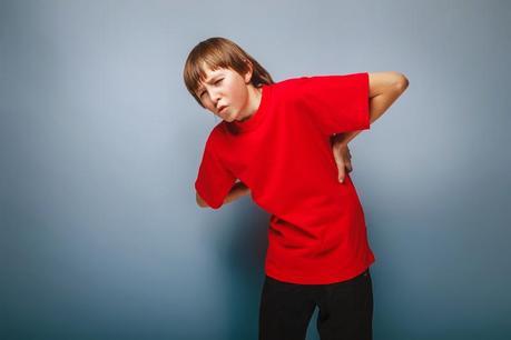Causas del dolor de espalda en los niños