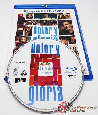 Dolor y Gloria, análisis de la edición estándar Blu-ray