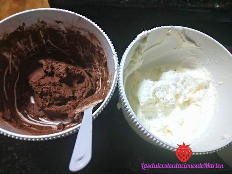 Tarta de Yema, Nata y Chocolate