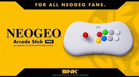 El nuevo aparato inspirado en la Neo-Geo es consola y joystick al mismo tiempo