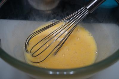 Tortilla de berenjena y cebolla