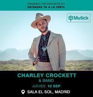 Concierto de Charley Crockett en El Sol