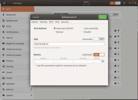 resolv.conf en Ubuntu 18.04
