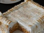Tarta Galletas Coco Merengue
