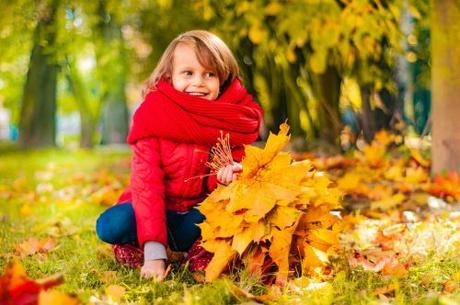 Diversión en otoño