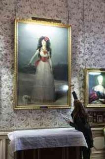 YA PUEDES VISITAR EN LIRIS EL CUADRO DE LA XIII DUQUESA DE ALBA