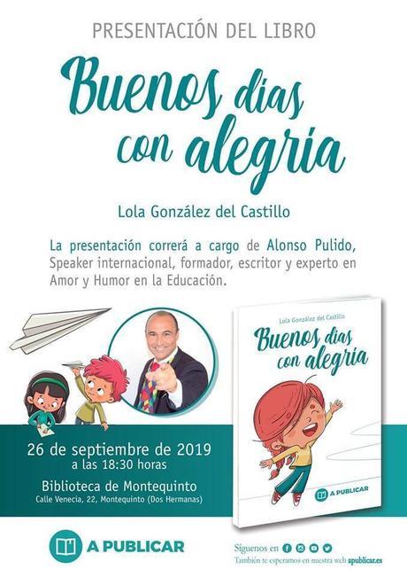 """Presentación libro: """"Buenos días con alegría"""" – Lola González"""