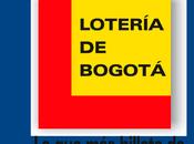 Lotería Bogotá septiembre 2019
