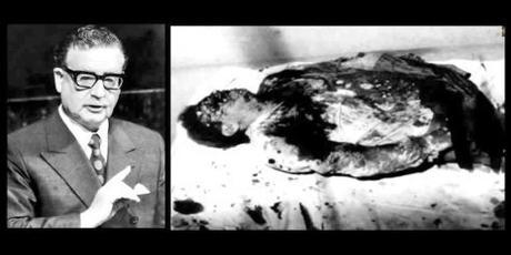 Foto de Salvador Allende acribillado demuestra que fue asesinado fría y premeditadamente