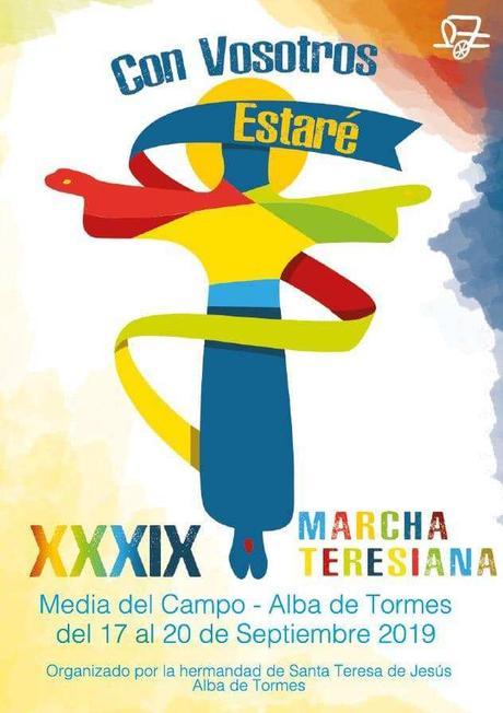"""""""Con vosotros estaré"""", lema de la XXXIX Marcha Teresiana"""