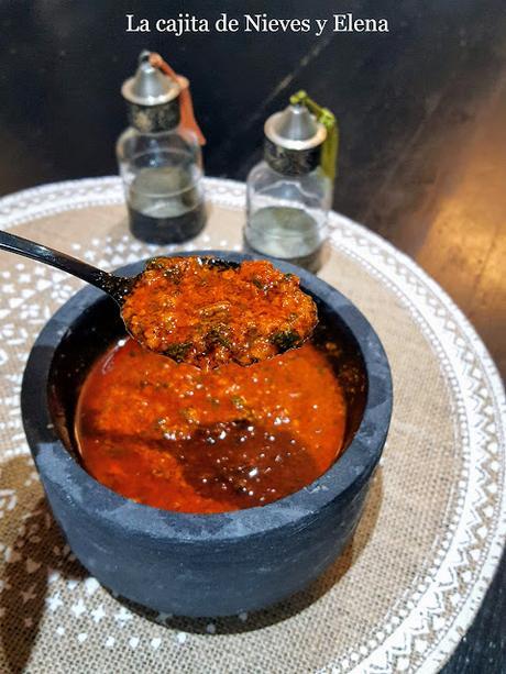 Salsa chermoula o chermula marroquí