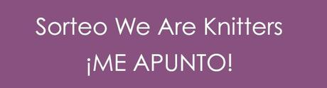 banner sorteo We Are Knitters