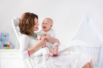 Haz un espacio en tu habitación para el bebé