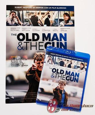 The old man and the gun portada
