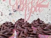 Cupcakes Vainilla Ganache Chocolate