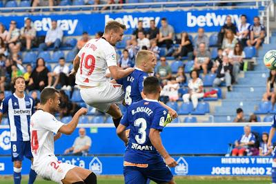 Crónica Deportivo Alavés 0 - Sevilla FC 1