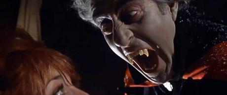 El Conde von Krolock (Ferdy Maine) raptando a Sarah.