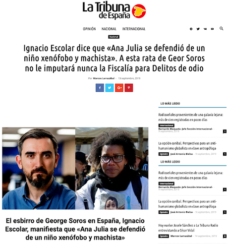 Ignacio Escolar y Josele Sánchez. La verdad en tierra de nadie.