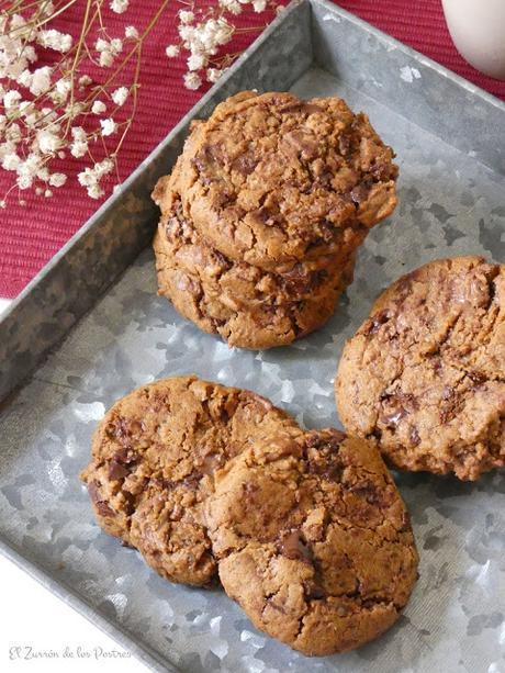 Cookies de Gofio de Quínoa con Chocolate
