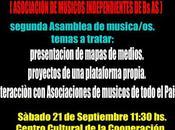 Asamblea Músicos: Segunda...
