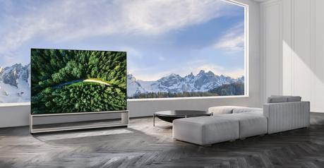 LG presentó los primeros televisores OLED y Nanocell 8K del mundo