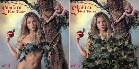 Shakira censurada