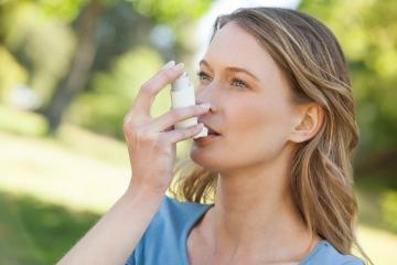 Como tratar el asma durante el embarazo