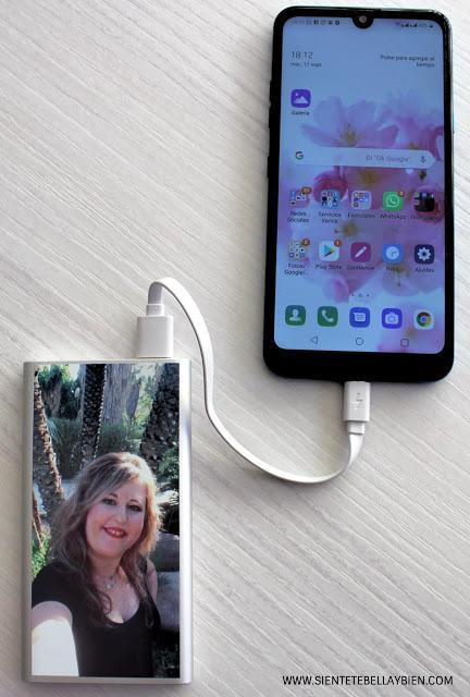 Personaliza tu móvil. Batería Externa con Mi Carcasa Personalizada
