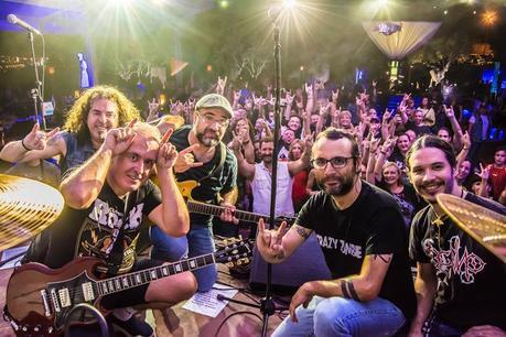 Nueva edición del Quinto Rock, cinco grupos en directo y un publico con ganas de disfrutar.