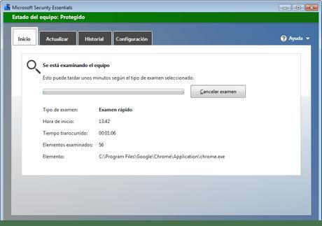 Windows Defender presenta problemas de escaneo en su versión 4.18.1908.7