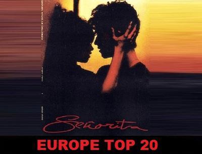 Europe Top 20 (Septiembre 8-14, 2019).