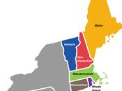 hermosos estados Nueva Inglaterra